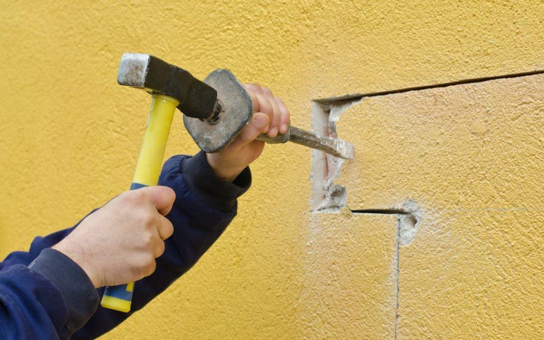 W jaki sposób przyspieszyć prace przy wyburzaniu ścian?